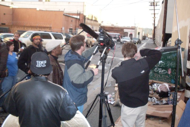 "shooting ""Trapped: Haitian Nights"""