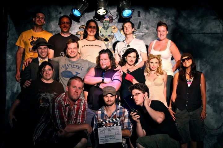 "cast and crew of ""Who Dam Done It?"""