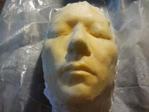 slip latex mask
